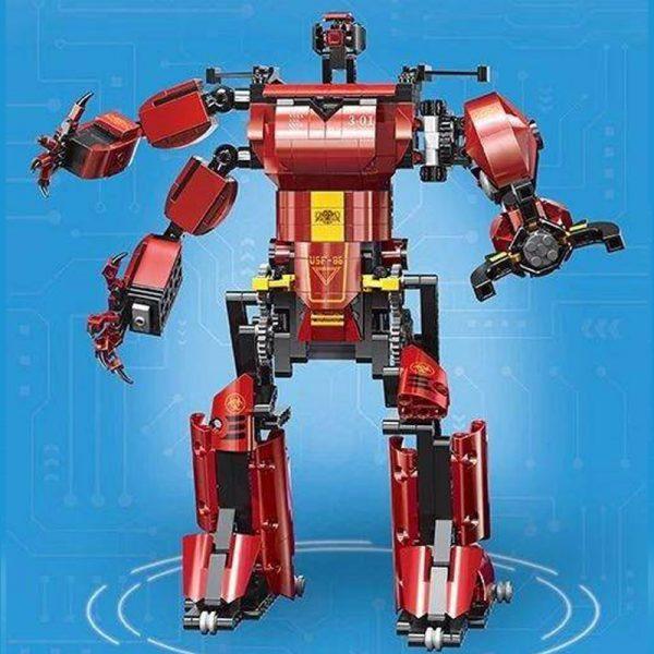 Mouldking 15038 Crimson Robot 4