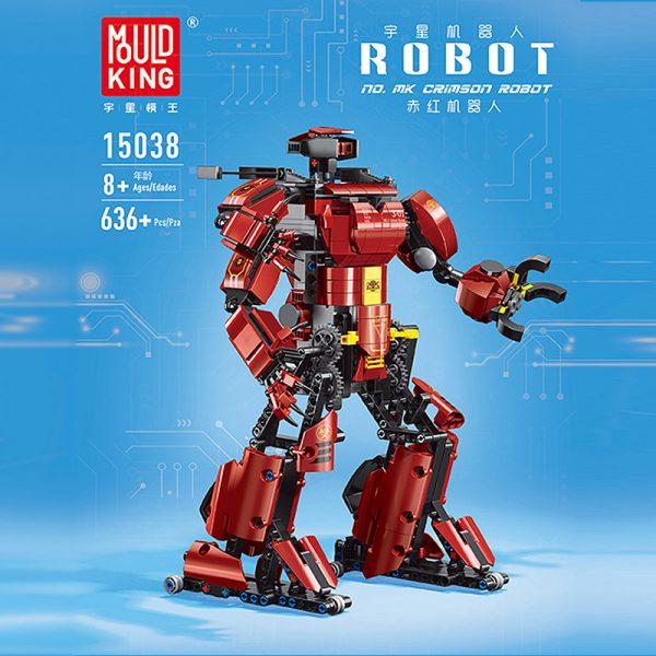 Mouldking 15038 Crimson Robot