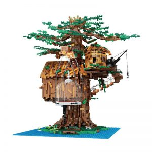Mouldking 16033 Tree House With Light 4
