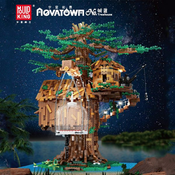 Mouldking 16033 Tree House With Light