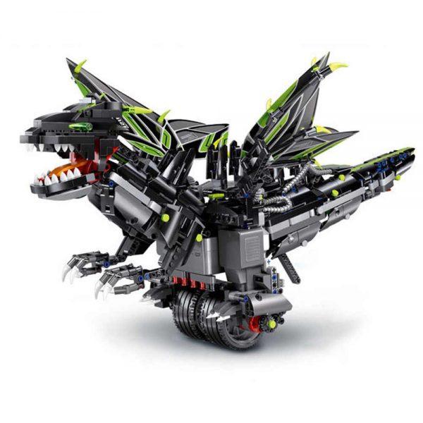 Mould King 13029 2 4g Rc Robot App Remote Control Intelligent Programming Multi Function Robot Building.jpg Q50 (3)