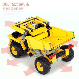 Mould King Technic Series Moc 13016 552pcs Mining Truck Electric Remote Control Building Blocks Brick Kids (1)