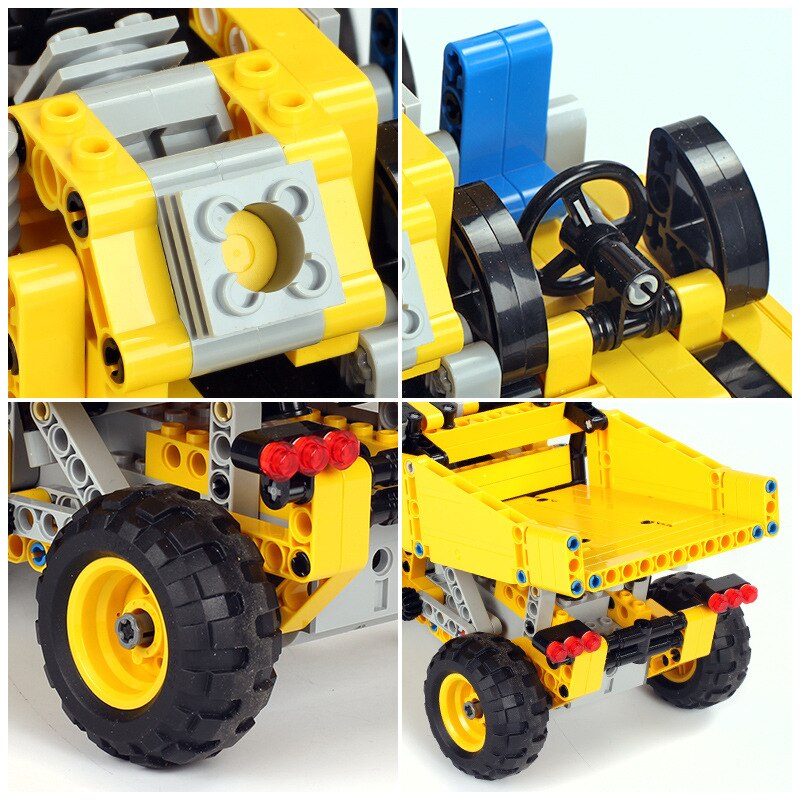 Mould King Technic Series Moc 13016 552pcs Mining Truck Electric Remote Control Building Blocks Brick Kids (3)