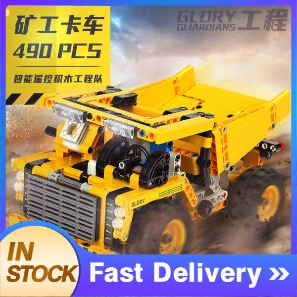 Mould King Technic Series Moc 13016 552pcs Mining Truck Electric Remote Control Building Blocks Brick Kids (4)