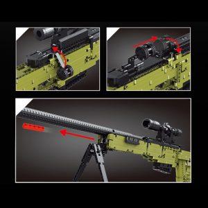 Mouldking 14010 Awm Sniper Rifle 3