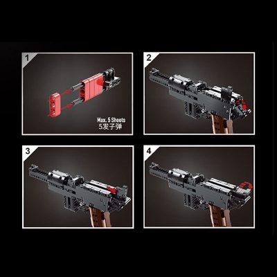 MOULDKING 14011 MAUSER C96 Block Gun