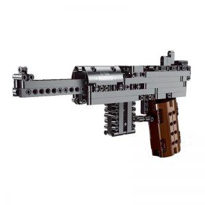 Mouldking 14011 Mauser C96 Block Gun 5
