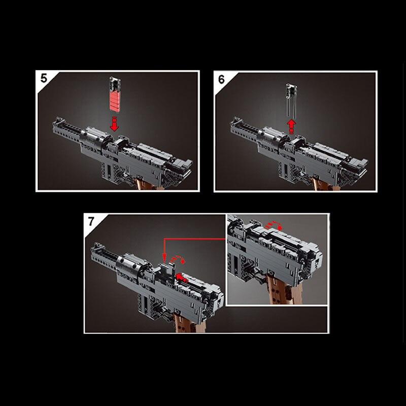 MOULD KING 14011 MAUSER C96 Block Gun