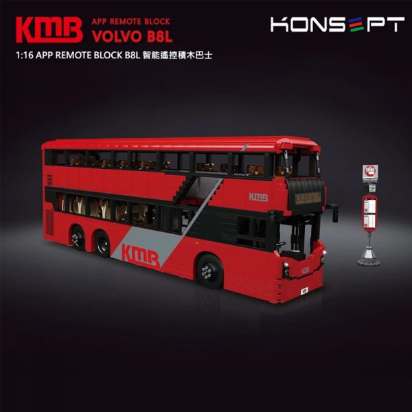 MOULDKING KB800 VOLVO B8L BUS with RCKb800 Volvo B8l Bus With Rc 2