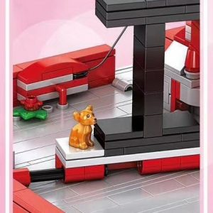 MOULD KING 10008 MOC 22083 Pop-Up Heart and Ring Box Love Story Book