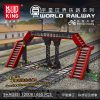 MOULD KING 12008 World Railway Railroad Crossing