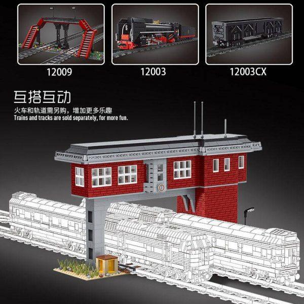 MOULD KING 12009 World Railway: Train signal station