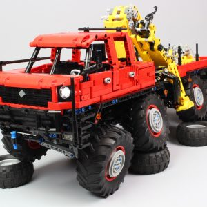 MOULD KING 13146 MOC 15805 Articulated 8×8 Offroad Truck by Nico71