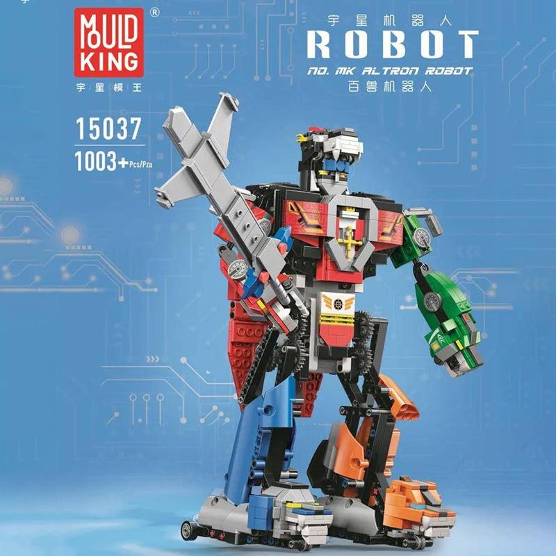 MOULD KING 15037 Voltron Robot