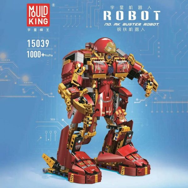 MOULD KING 15039 Buster Robot