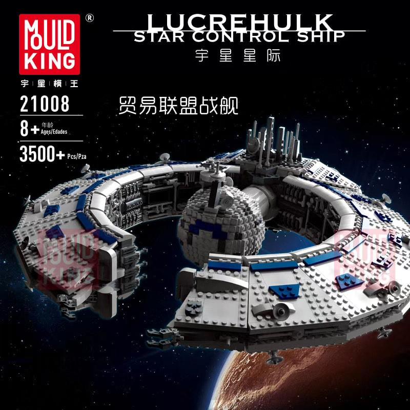 MOULD KING 21008 Lucrehulk-Class Battleship (Droid Control Ship)