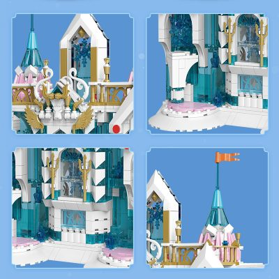 MOULD KING 11008 Snow Palace