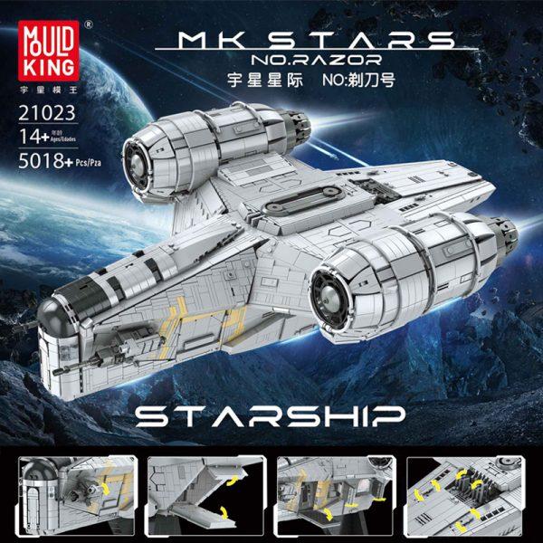 Mouldking 21023 Razor Starship 095900