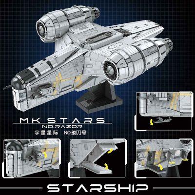 MOULD KING 21023 Razor Starship
