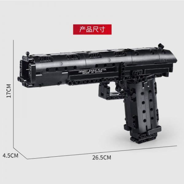 Mould King 14004 Desert Eagle Pistol (2)