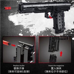 Mould King 14004 Desert Eagle Pistol (4)