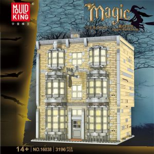 Mould King 16038 16041 Harry Potter Series Wizarding World (1)