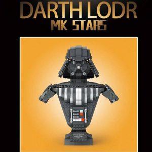 Mould King 21020 Darth Vader Bust Sculpture (3)