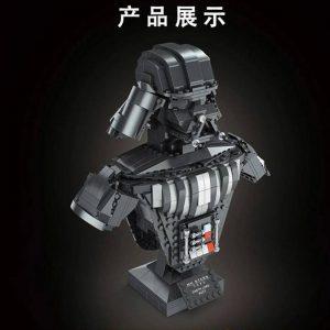 Mould King 21020 Darth Vader Bust Sculpture (4)