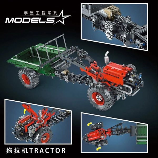 MOULD KING 17005 Tractor