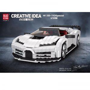 Mould King 10004 Bugatti 110 Special Commemorative Edition (1)