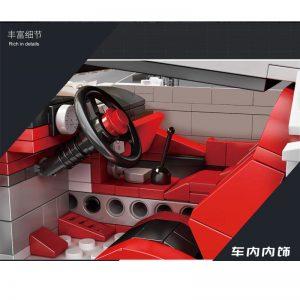 Mould King 10004 Bugatti 110 Special Commemorative Edition (5)