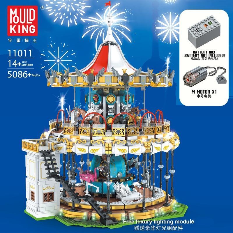 MOULD KING 11011 Land Carousel