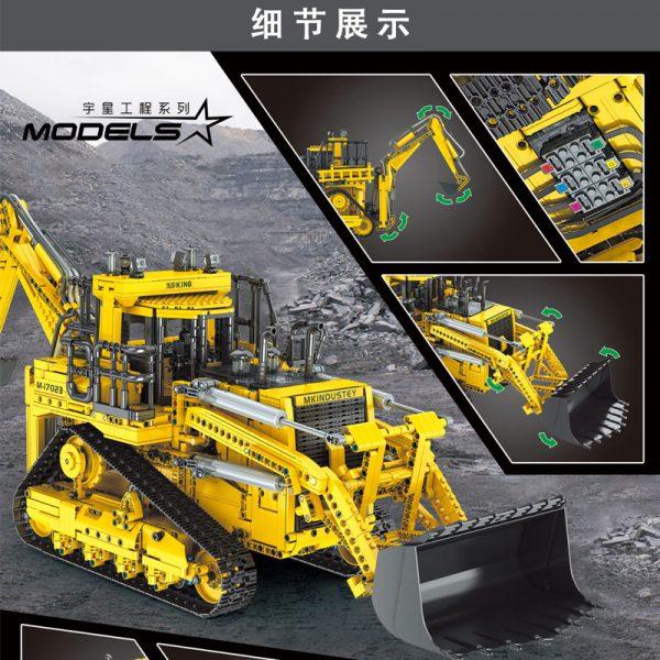 Mould King 17023 Pneumatic Forklift (1)