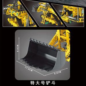 Mould King 17023 Pneumatic Forklift (3)