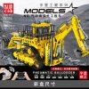 Mould King 17023 Pneumatic Forklift (6)