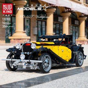 Mould King 13080 Bugatti 50t (6)