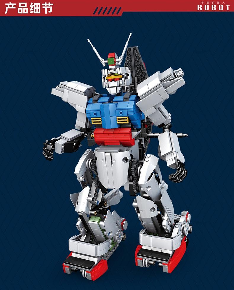 MOULD KING 15024 RC RX78 Gundam