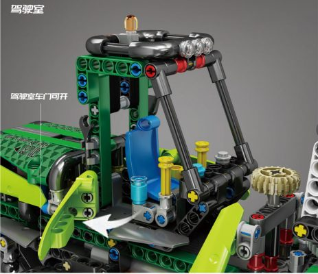 MOULD KING 19006 Pneumatic Forest Machine