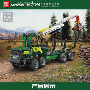 Mould King 19006 Pneumatic Forest Machine (6)