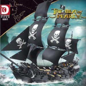 Dk 6001 The Black Pearl Ship Pirate (1)