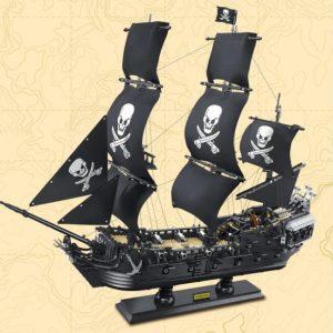 Dk 6001 The Black Pearl Ship Pirate (4)