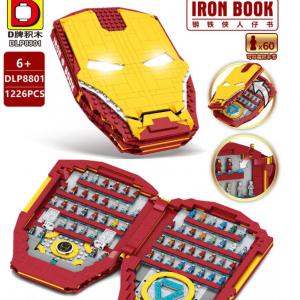 Dlp 8801 Revenge Heroes Iron Book (1)