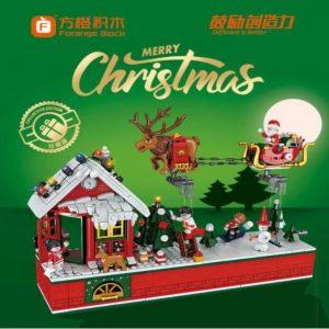Forange Fc6003 Flying Christmas Party Christmas Scene (2)