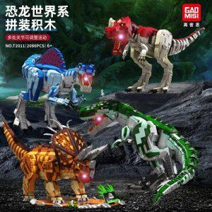 Gao Misi T2010 2013 Dinosaur World With Lights (1)