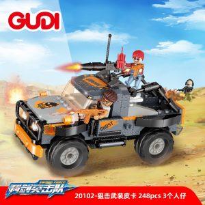 Gudi 20102 Sniper Armed Pickup