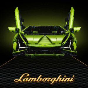 King 81996 Lamborghini Sian Fkp 37 Green 2020 (2)