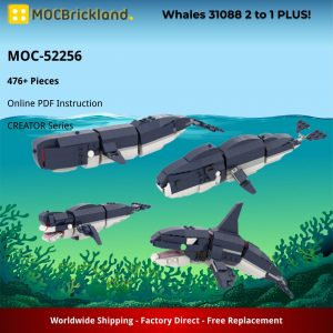 Moc 52256 Whales 31088 2 To 1 Plus! (2)