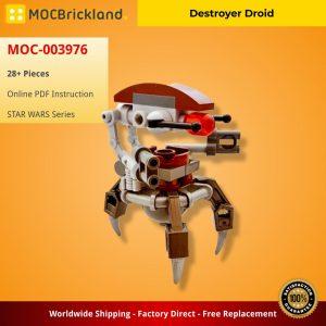 Mocbrickland Moc 003976 Destroyer Droid (2)
