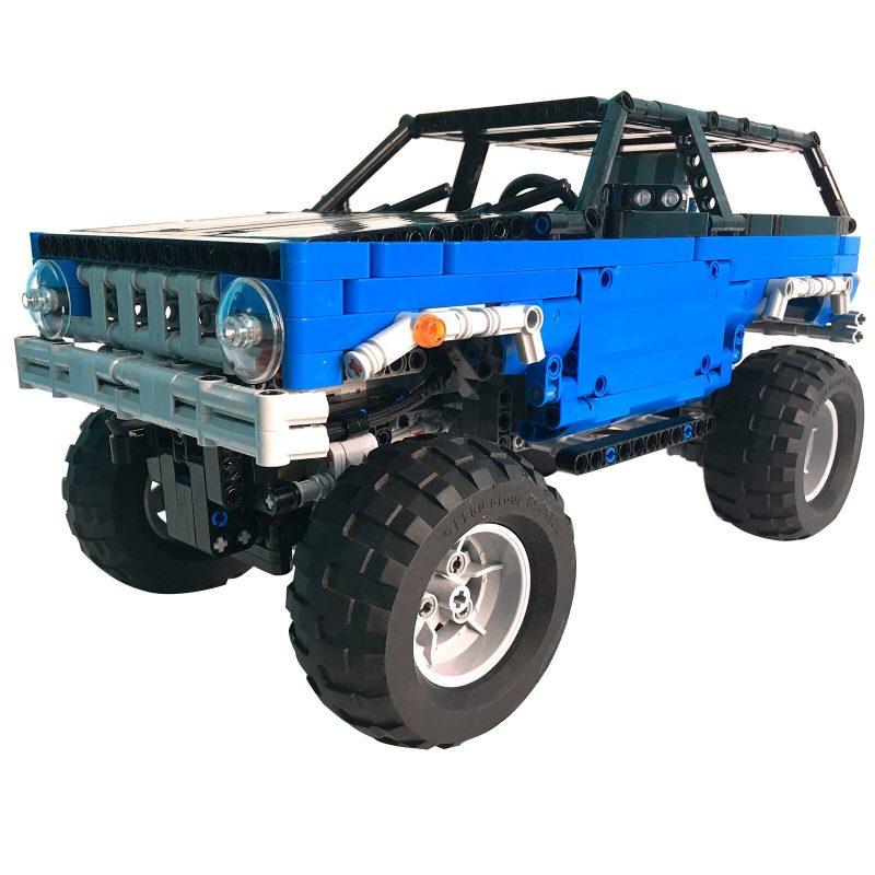 MOCBRICKLAND MOC-15217 Trial Contest Truck