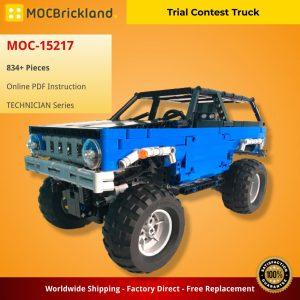 Mocbrickland Moc 15217 Trial Contest Truck (2)